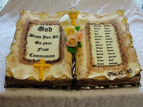 Bible Cake #1