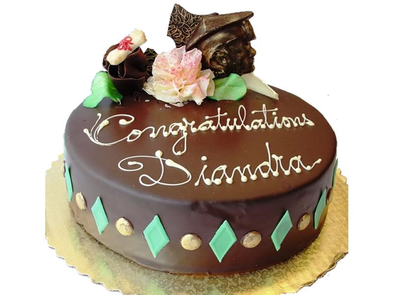 George Mason Graduation Cake #2