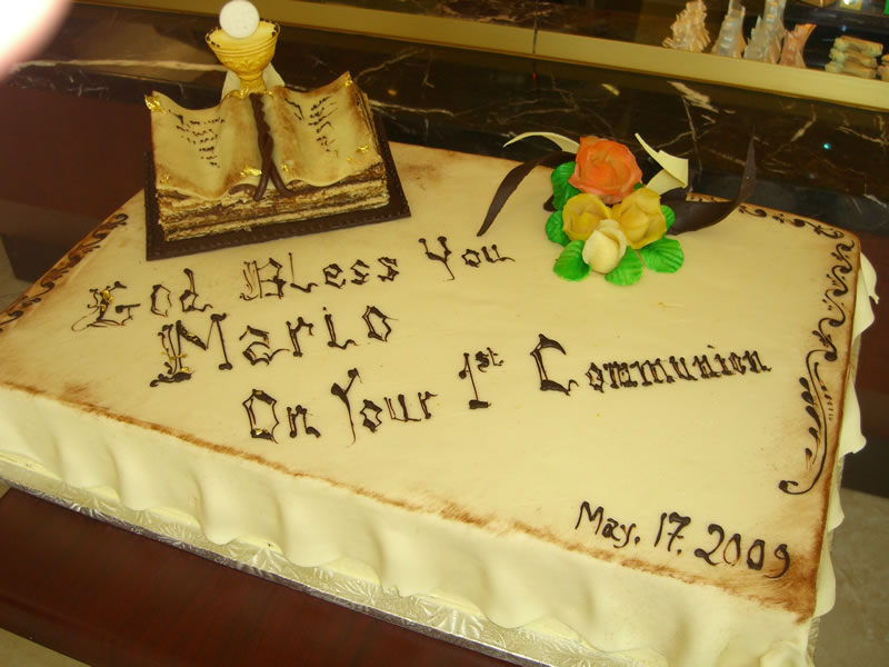 Mini Bible Cake