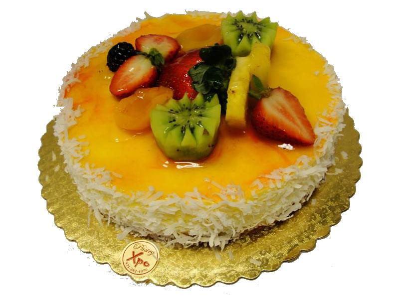 Coconut Mango Cheesecake