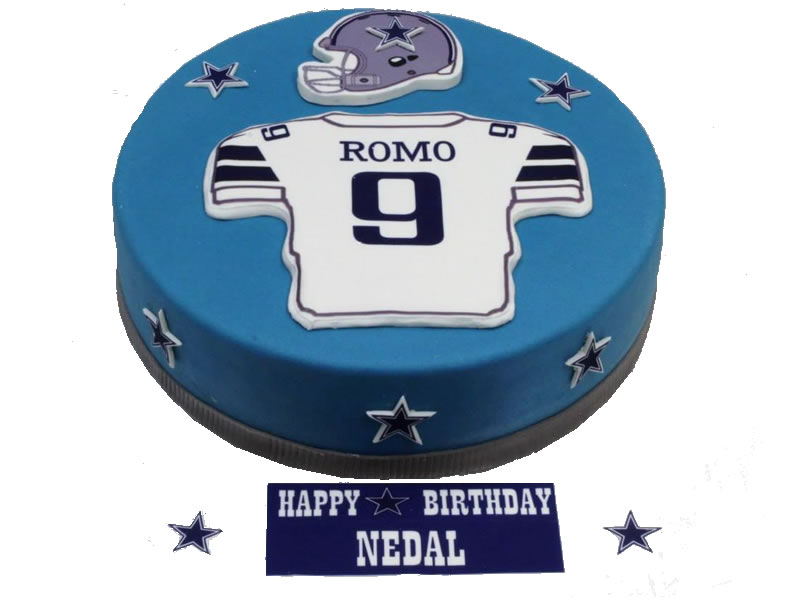 Football Player Birthday Cake