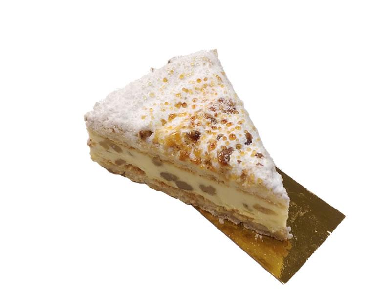 Walnut Dacquoise Dessert