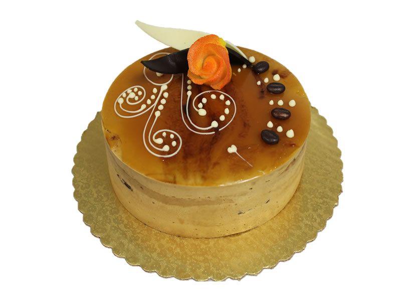 Mocha Caramel Cake