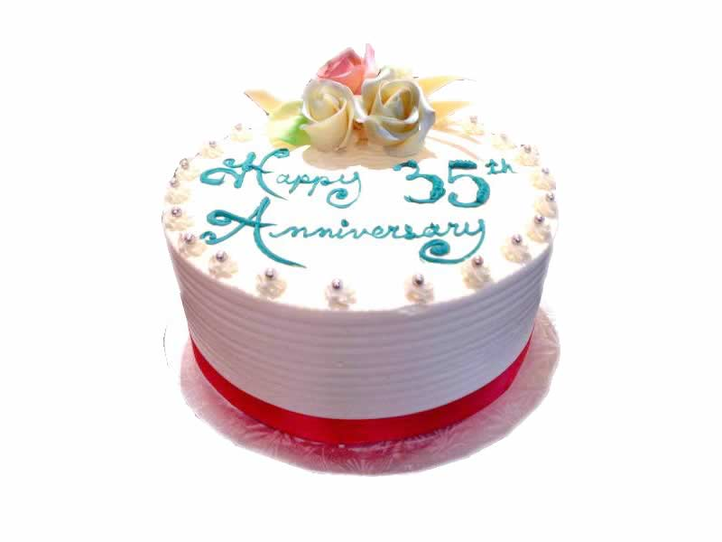35th Anniversary Cake